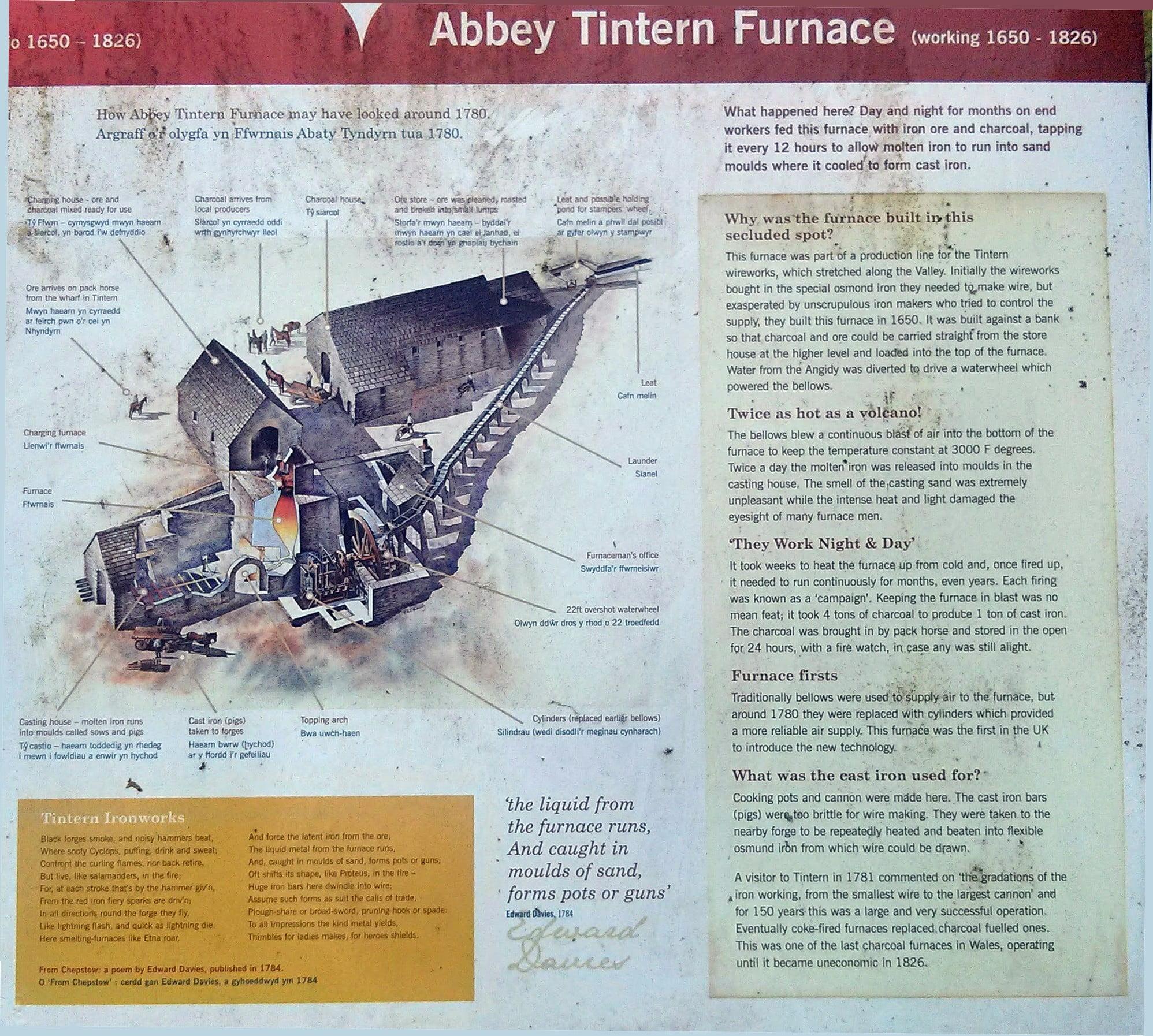 Abbey Tintern Furnace copyright Maryann Soper