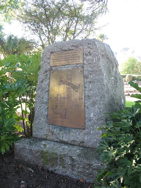 Newcomen Memorial, Dartmouth by Stephen Craven and licensed for reuse under this Creative Commons Licence.
