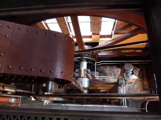 Claymills Victorian Pumping station - D engine. Copyright Chris Allen and licensed for reuse under CC BY-SA 2.0.