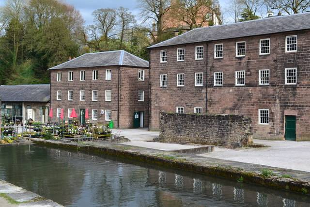 Cromford Mills by David Martin and licensed for reuse under this Creative Commons Licence.