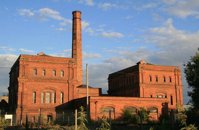 Claymills Pumping Station, Copyright Chris Allen and licensed for reuse under this Creative Commons Licence.