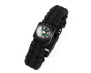 Explorer's Utility Wristband – Black