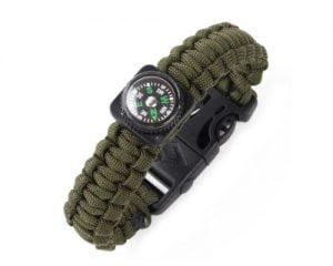 Explorer's Utility Wristband – Khaki