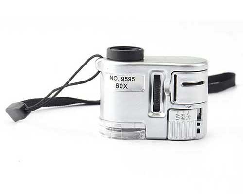 Mini UV/LED Microscope
