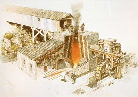 Early-Blast-furnace