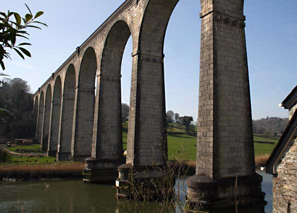 Calstock Viaduct. © Copyright Tony Atkin and licensed for reuse under CC BY-SA