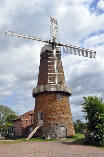 Whissendale Windmill. © Copyright Ashley Dace and licensed for reuse under CC BY-SA 2.0