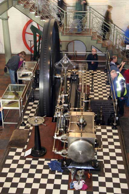 Goldstone Pumping Station & The British Engineerium. The French engine. © Copyright Chris Allen and licensed for reuse under CC by SA 2.0
