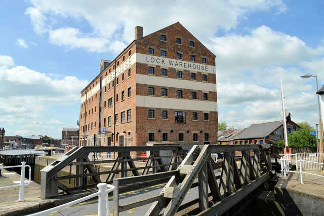 Gloucester Historic Docks © Copyright Philip Pankhurst and licensed for reuse under CC by SA 2.0