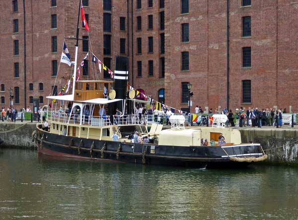 Steam Tug Daniel Adamson © Copyright Chris Allen and licensed for reuse under CC by SA 2.0