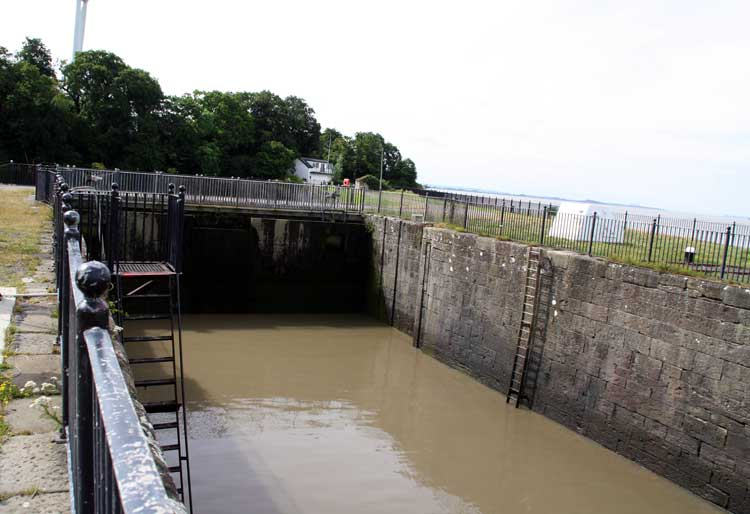 Sharpness Canal Old Entrance