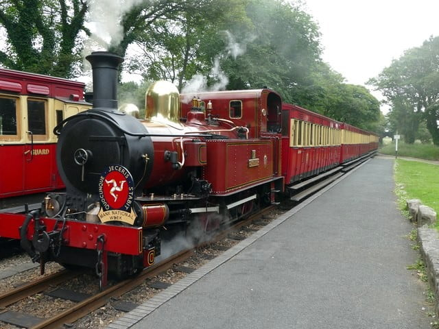Isle of Man Steam Railway © Copyright Graham Hogg and licensed for reuse under CC by SA 2.0