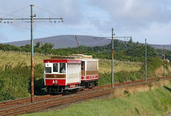 Manx Electric Railway © Copyright Alan Murray-Rust and licensed for reuse under CC-by-SA 2.0