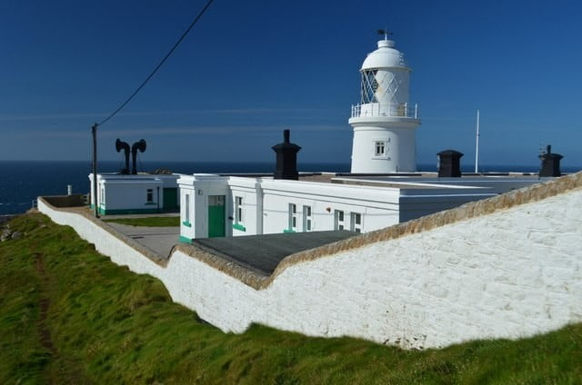 Pendeen Watch Lighthouse © Copyright Ashley Dace and licensed for reuse under Creative Commons Licence.